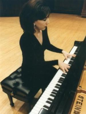 Dr. Caroline Hong, pianist from the Ohio State University School of Music